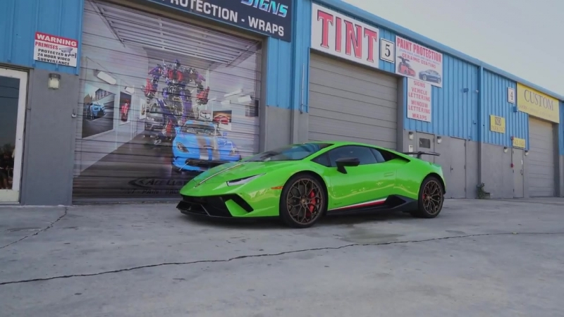 Ace Custom Signs _ Huracan Performante Full Body XPEL