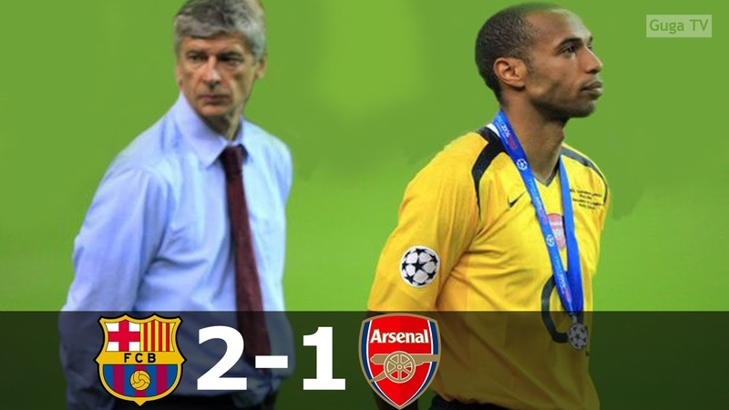 Barcelona vs Arsenal 2 1 UCL Final 2006 Highlights English Commentary HD