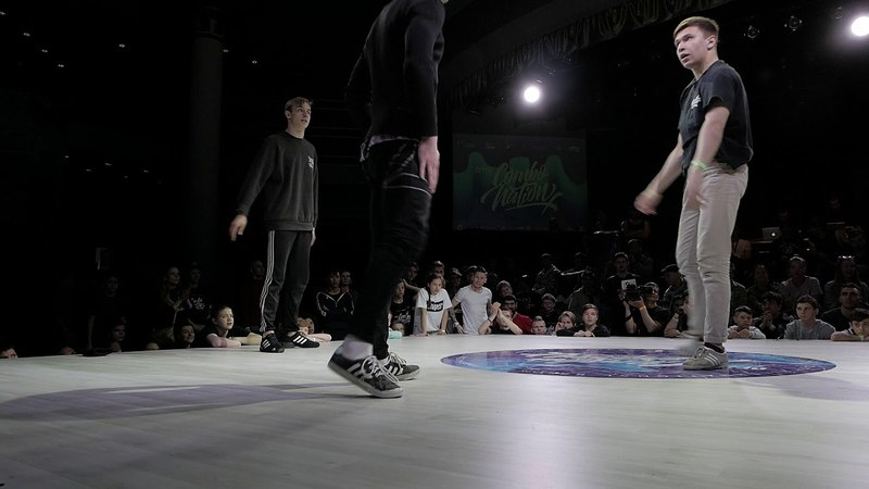 MAXI RICK SNAKE ICE vs NEWS BBOY - POWER MOVE 2x2 - 1/16 - COMBONATION X - KAZAN - 29.04.18