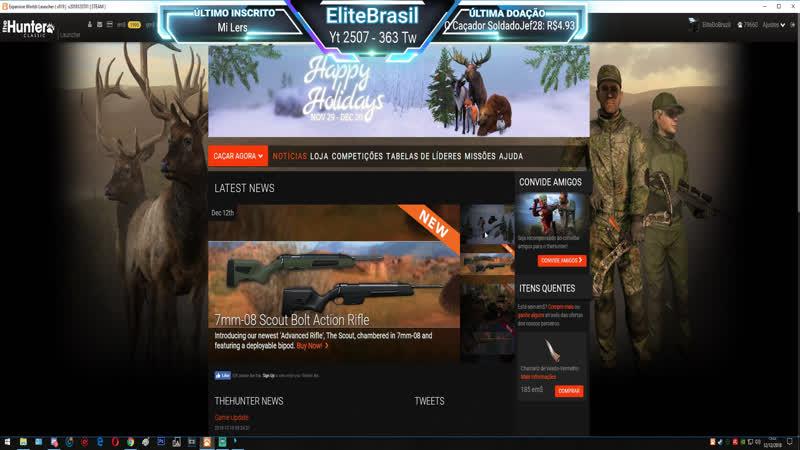 TheHunter: Classic - Análise > Rifle de Ferrolho Scout 7mm-08 Elite/Padrão