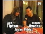Judas Priest - Interview with Glenn Tipton And Ripper Owens (1998-04-14)