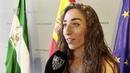 Olga Carmona recibe el reconocimiento de la Junta de Andalucía