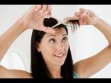 Как подстричь косую челку самой Мастер-класс - YouTube