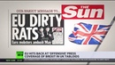 EU hits back at 'offensive' press coverage of Brexit in UK tabloids