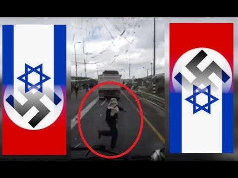 Des Colons Sionistes Protégés par Tsahall,Caillassent des Voitures Palestiniennes ! Lire Description