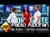 Pilar Rubio, Pablo Motos y Pablo Alborán hacen ejercicios para endurecer los glúteos - El Hormiguero