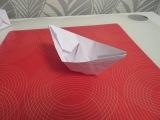 как сделать из бумаги кораблик оригами.