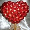 Букеты из конфет г.Днепропетровск. Мастер-классы