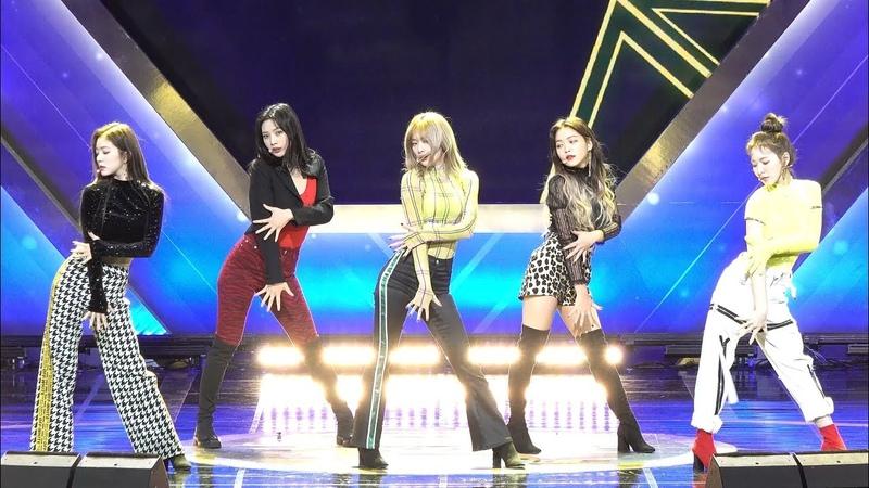 181210 레드벨벳 Red Velvet RBB (Really Bad Boy) 4K 직캠 @ 골든글러브 시상식 by Spinel