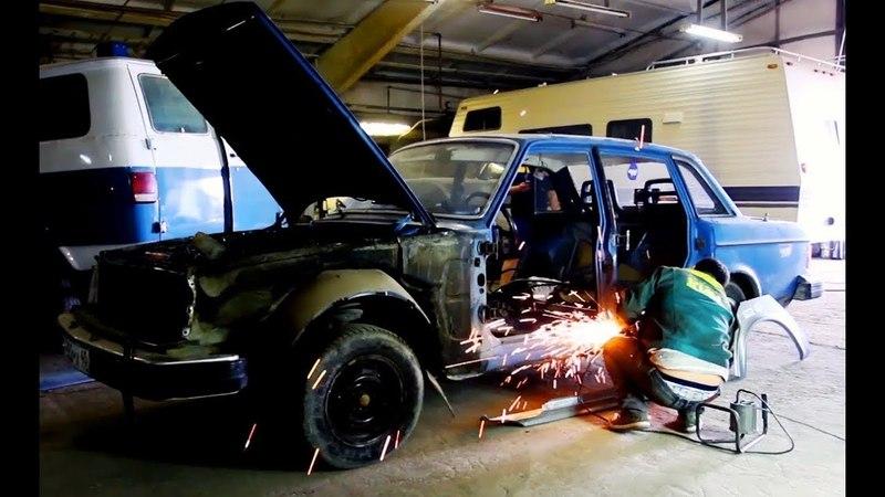 Volvo 240 2ве4тверки. Вселенная шведской коррозии. Переварка.