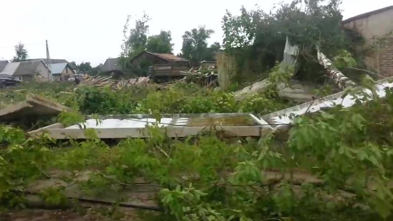 Последствия урагана в Колюбакино (2) 13.07.2016