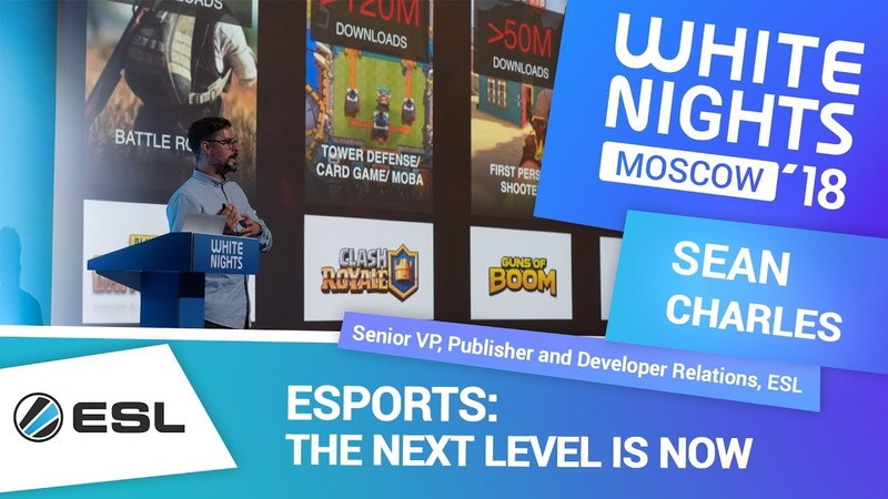 Sean Charles (ESL) - Esports: the Next Level Is Now