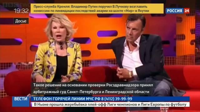 Новости на Россия 24 • Стоматология, где умер балетмейстер Вихарев, работала без лицензии