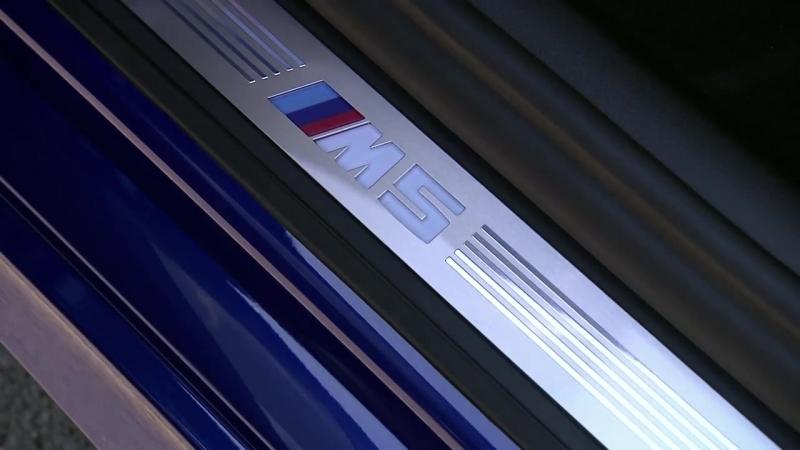 BMW M5 (F90) Interior Design