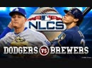 MLB NLCS Dodgers vs Brewers Game 6