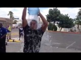 WWE Superstar Bo Dallas takes the #IceBucketChallenge for ALS