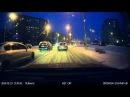 Вечер снег Blackvue DR550GW 2CH новая прошивка 21р