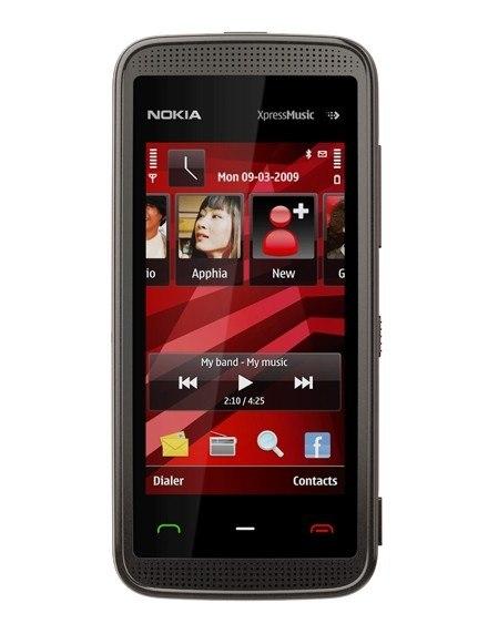 Запросить новый пароль по электронной почте. Мобильный телефон Nokia 5530