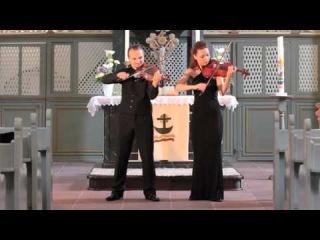 """Violin Duo Divites - W.A. Mozart Ouverture """"Le nozze di Figaro"""""""