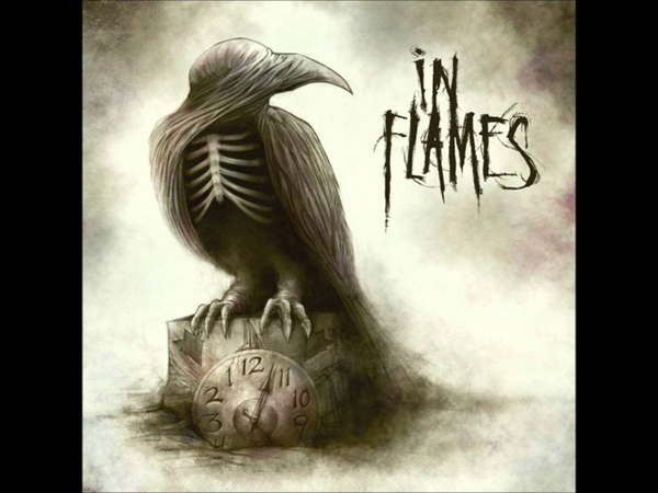 In flames Where the dead ships dwell Sounds of a playground fading Full song