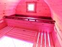 Баня Бочка Аква от Миасских Саун Бассейн и подсветка в парной