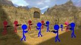 Flash Animation - Counter-Strike 1.6 - de_dust2 (Zombie Server) Remastered