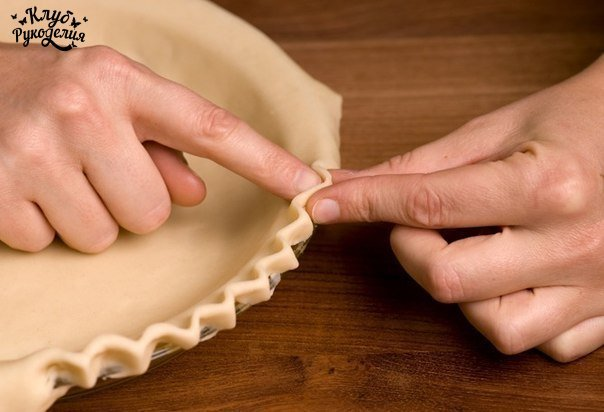 Как оригинально украсить пирог (6 фото) - картинка
