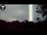 Strange light or Ufo recorded in Thailand
