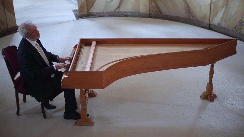 Claudio Merulo Ricercare primo (1567) Marco Mencoboni harpsichord
