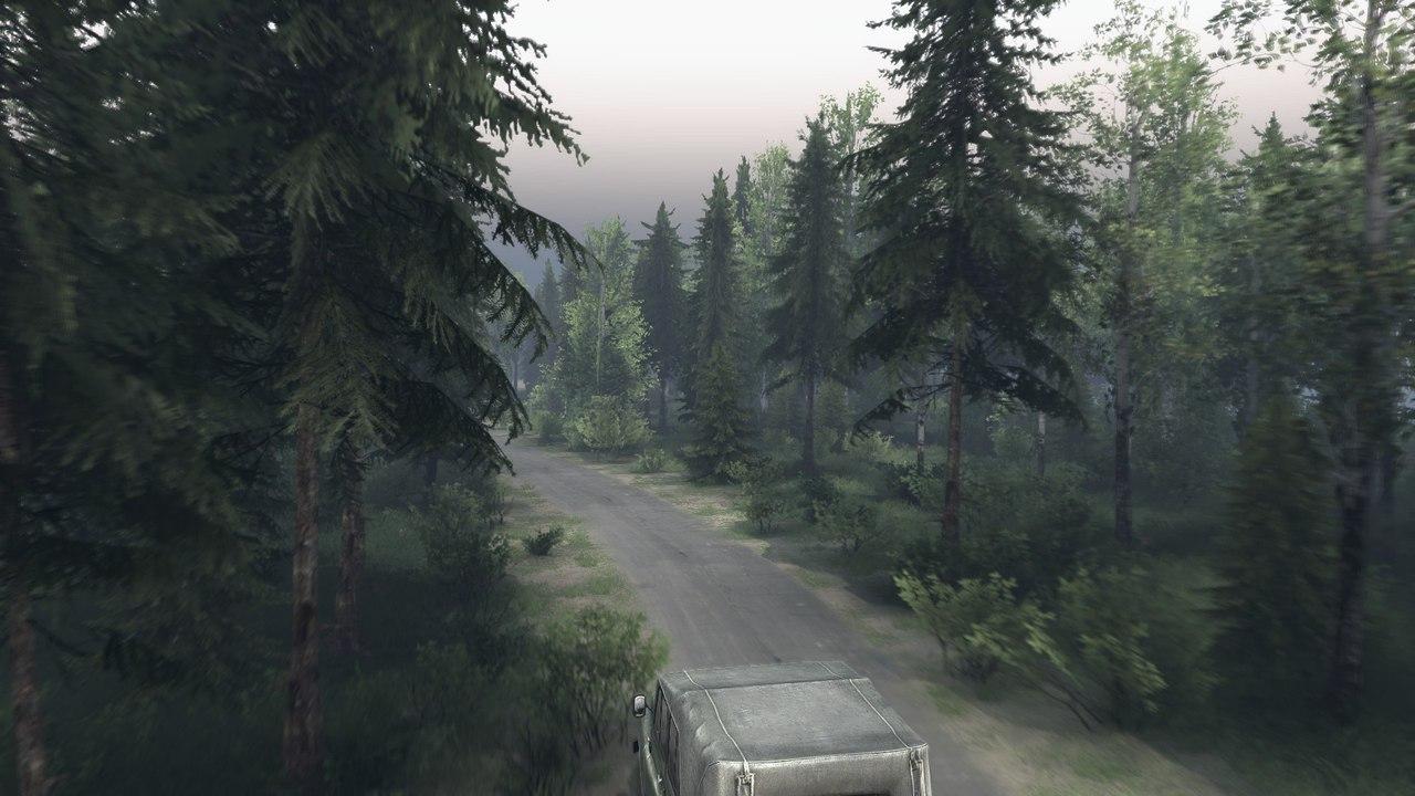 """Карта """"Ежово"""" для Spintires - Скриншот 1"""