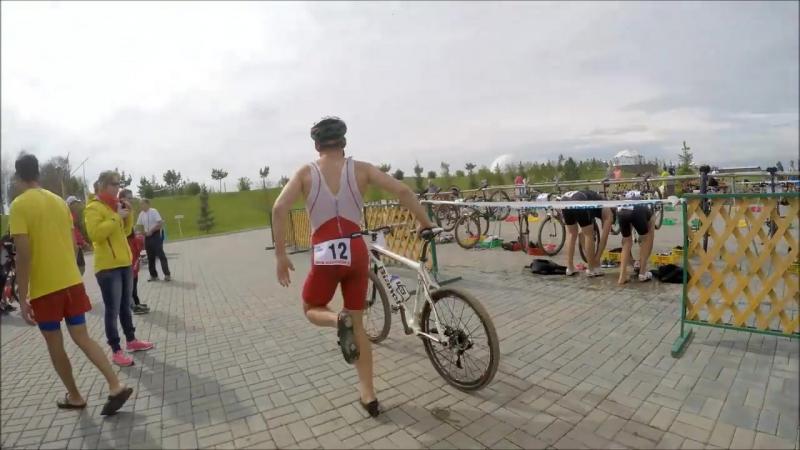Xterra Triathlon. Cross Triathlon in Russia