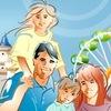 Семья в городе Сергиев Посад
