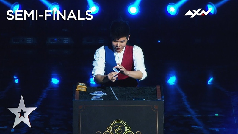 VOTE NOW: Eric Chien (Taiwan) Semi-Final 2 | Asia's Got Talent on AXN Asia