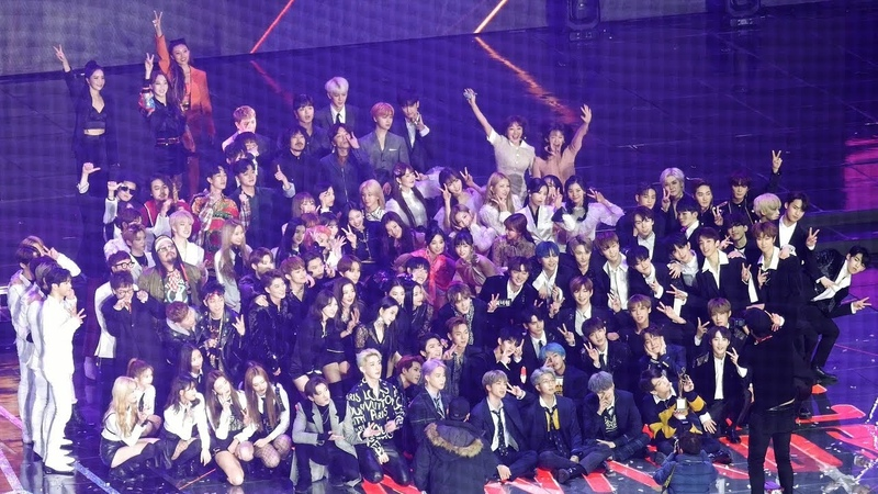 BTS, 워너원, 트와이스, 레드벨벳 등 모든 아티스트 all artist : Ending photo 엔딩 : Fullshot : 고척돔