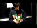 Alex Constancio solving my rubik's cube!
