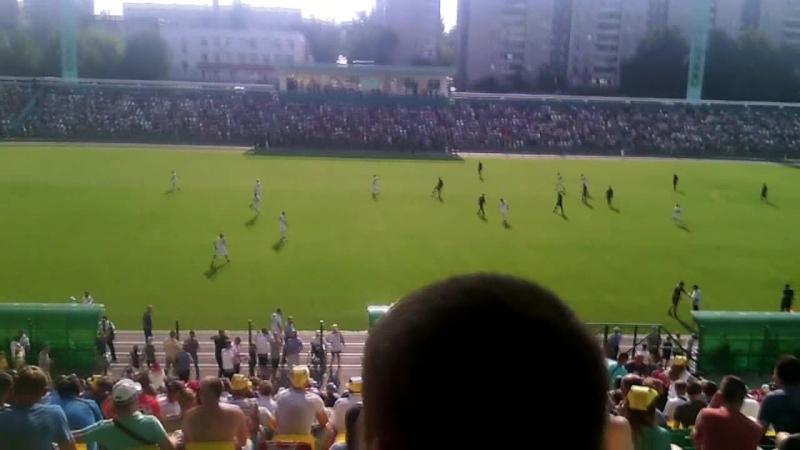 Матч открытия стадиона Металлург