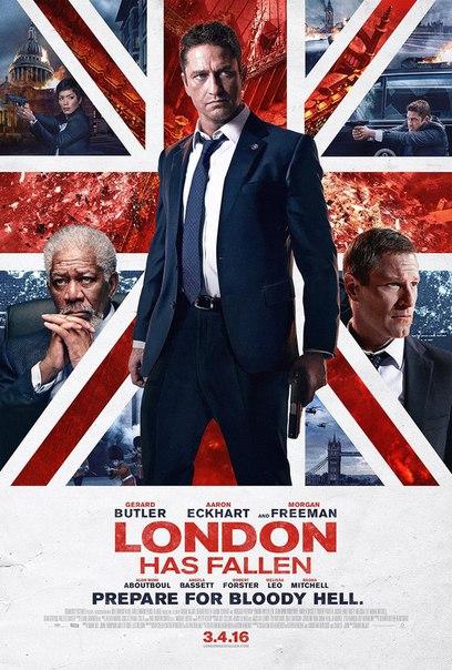 Новый постер к боевику «Падение Лондона» с Джерардом Батлером