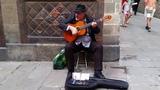Испанская гитара - Уличный Музыкант в Барселоне