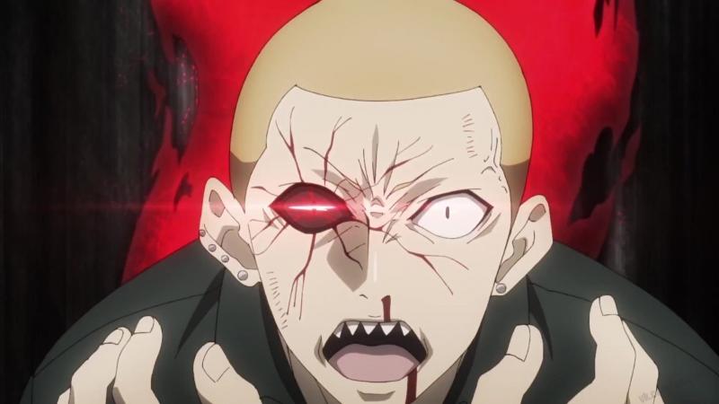 Токийский гуль: Перерождение 12 серия 3 сезон | Гинши Ширазу против Норо | Tokyo Ghoul:re
