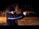 .22 pistol with homemade suppressor