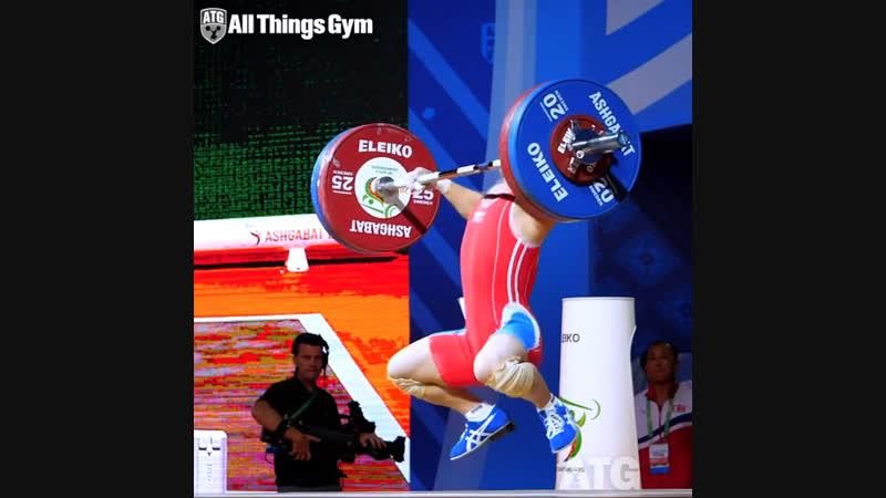 Ом Юн Чхоль (55 кг, Северная Корея 🇰🇵). Рывок 120 кг