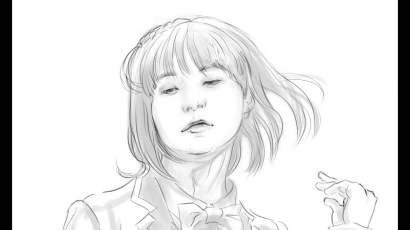 Min Yoonji SUGA speed paint