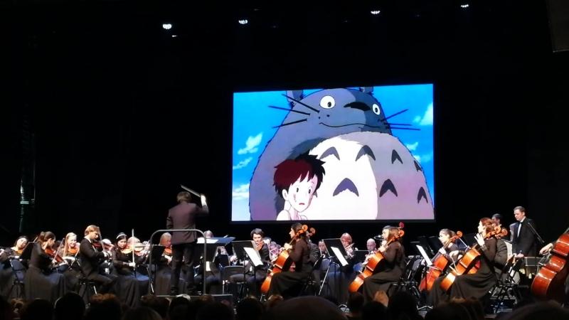Оркестровая музыка из аниме Хаяо Миядзаки Унесенные призраками, Мой сосед Тоторо Порко Россо