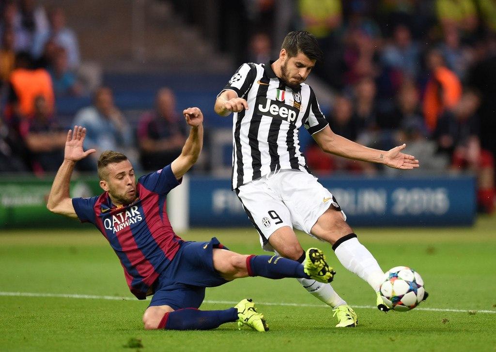 «Ювентус» - «Барселона». Часть 1. Расстановка и статистика