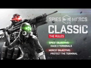 Gameplay Spies vs Mercs Classic for Splinter Cell Blacklist