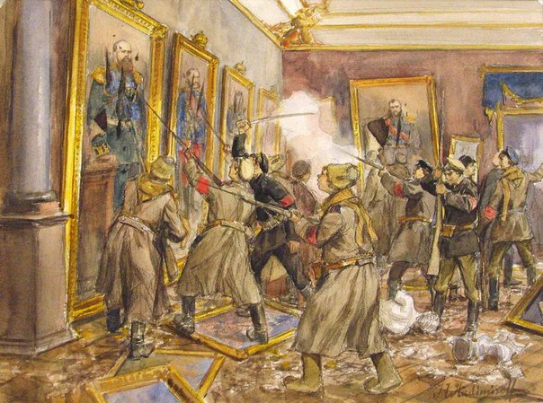 Революция и гражданская война глазами художника 6HpVsw1eIbA