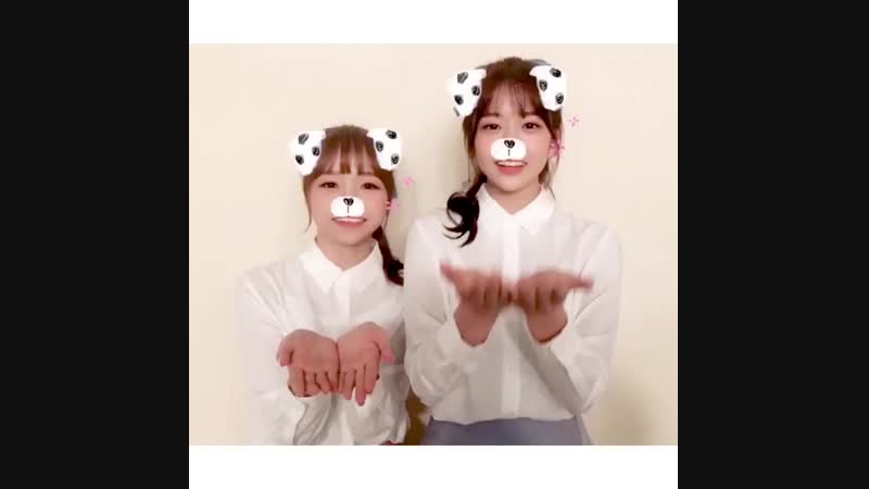 181110 IZONE instagram update with Yuri and Yujin