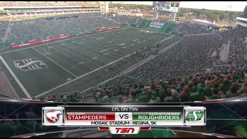 CFL 2018 Week 07 Calgary Stampeders - Saskatchewan Roughriders EN