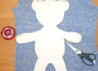 как сшить плюшевого мишку для начинающих