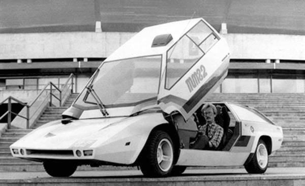 """Cамодельный автомобиль """"Панголина"""", советский ответ Lamborghini Countach и DeLor..."""